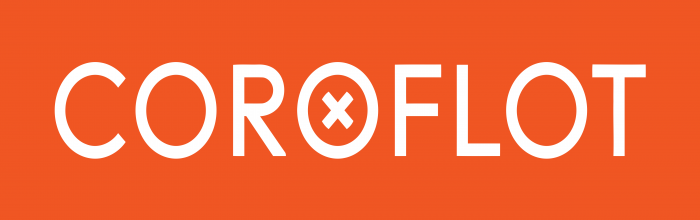 Coroflot Logo orange background