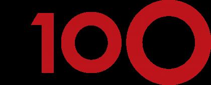 D100 Radio Logo red
