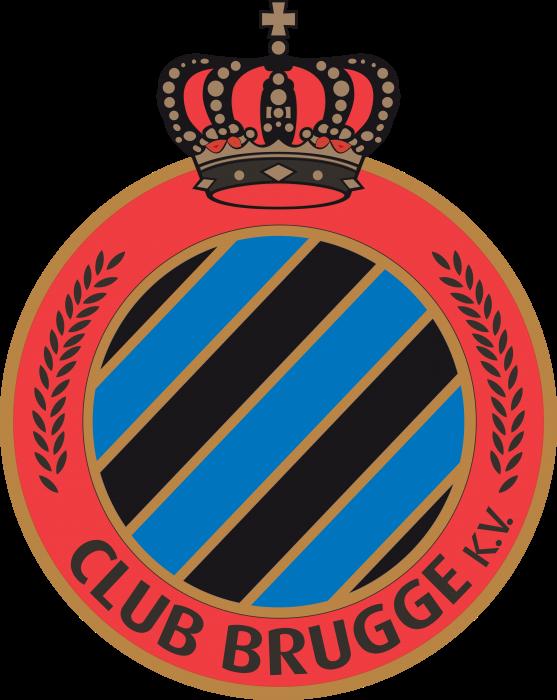FC Brugge Logo red