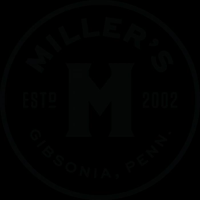 Miller's Banana Pepper Mustard Logo round