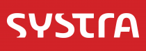 Systra Logo red background