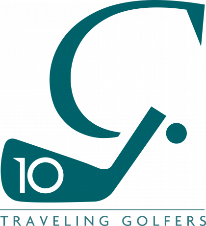 Traveling Golfer Logo