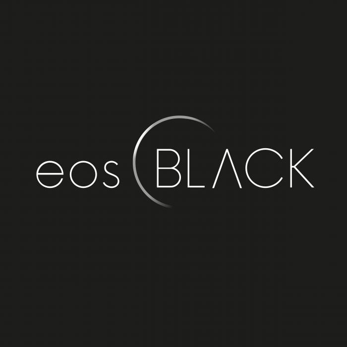 eosBLACK Logo Black