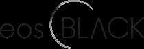 eosBLACK Logo White