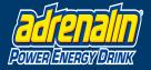 Adrenalin Power Energy Drink Logo