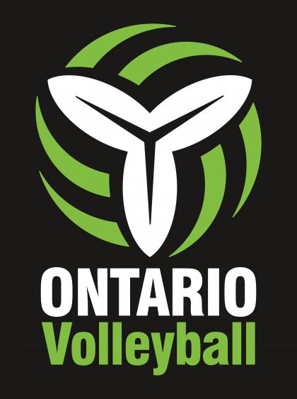 Ontario Volleyball Association Logo