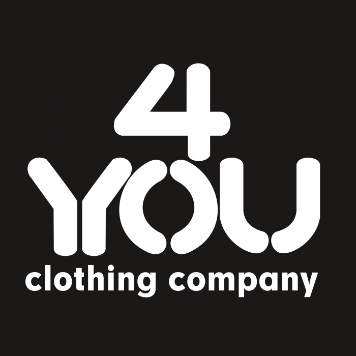 4 You Clothing Company Logo black