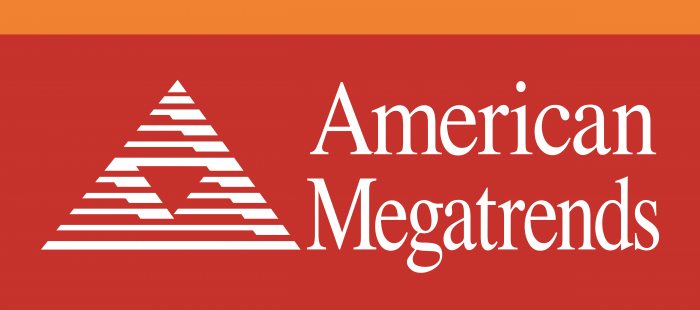 American Megatrends Incorporated Logo red