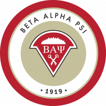 Beta Alpha Psi Fraternity Logo