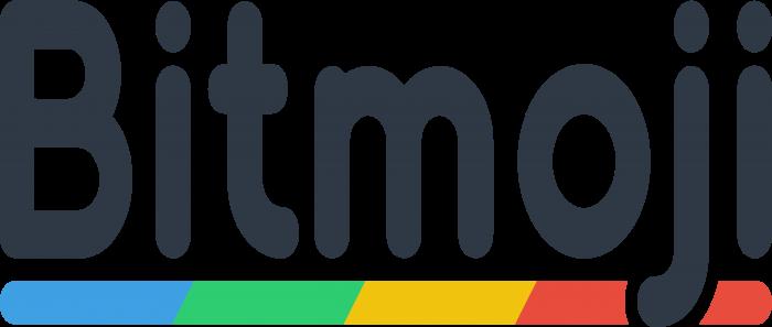 Bitmoji Logo text