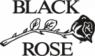 Black Rose Leather Logo