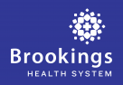 Brookings Health System Logo white text