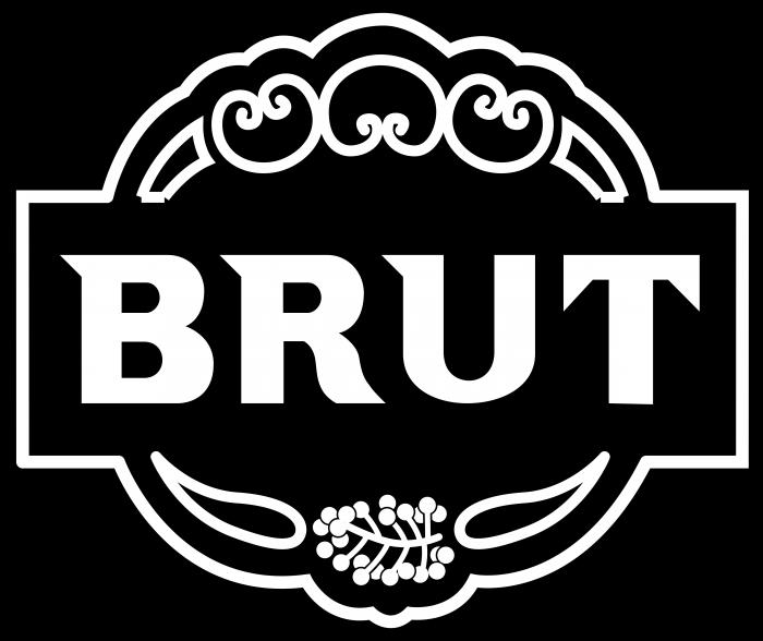 Brut cologne Logo old