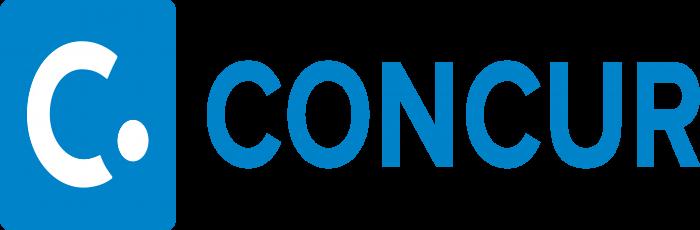 Concur Technologies Logo blue