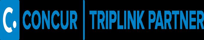 Concur Technologies Logo blue horizontally