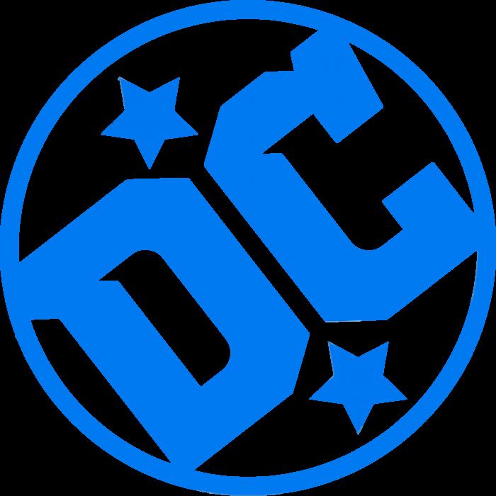 DC Comics Logo stars