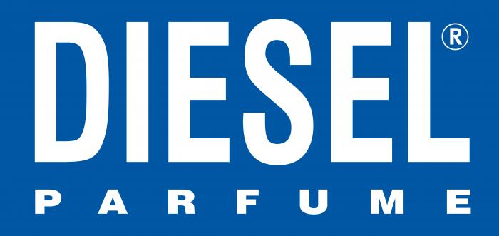 Diesel Parfume Logo blue