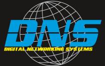 Domain Name System Logo black background