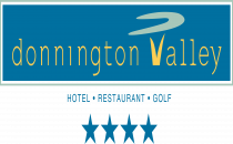 Donnington Valley Hotel and Spa Logo blue