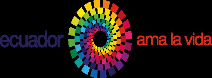 Ecuador Ama la Vida Logo horizontally