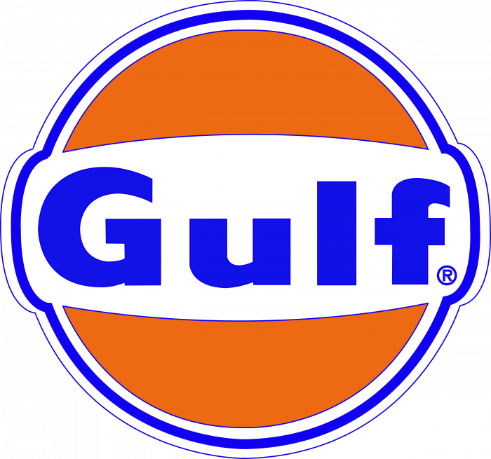 Gulf Racing Umbrella Logo full