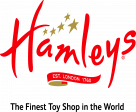 Hamleys Logo red