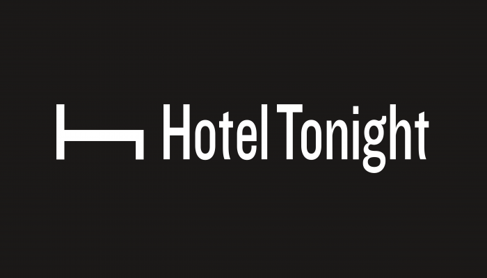 Hotel Tonight Logo black background