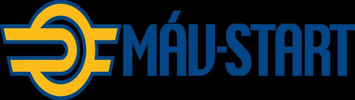 Hungarian State Railways Logo horizontally