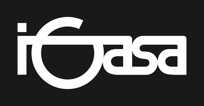 Igasa Logo black background