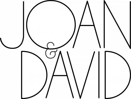 Joan & David Logo