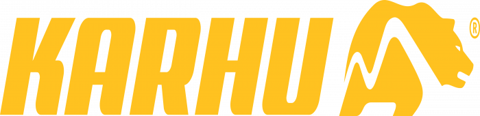 Karhu Technology Logo yellow