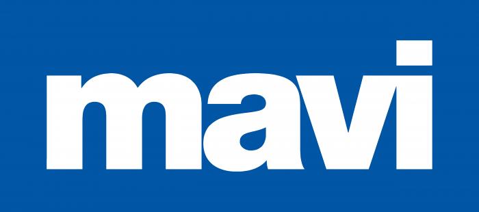 Mavi Jeans Logo white text