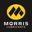 Morris Lubricants Logo black background