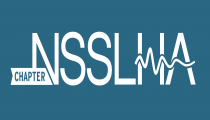 National Student Speech Language Hearing Association Logo