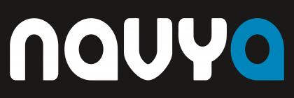 Nauya Logo black background