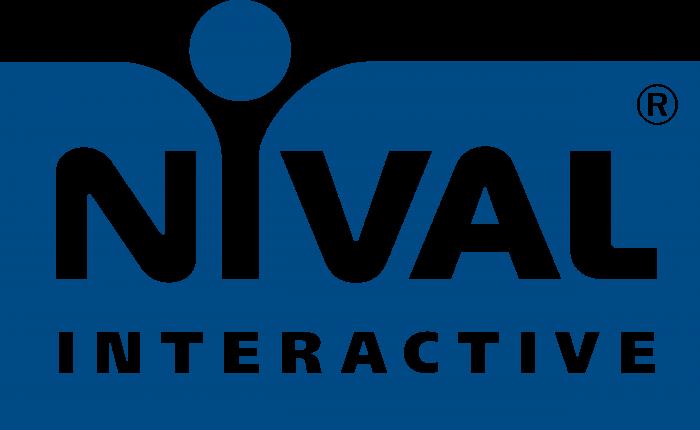 Nival Interactive Logo blue