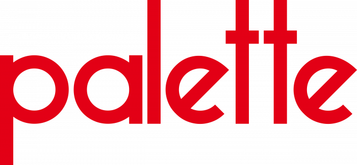 Palette Logo red