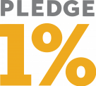 Pledge 1% Logo
