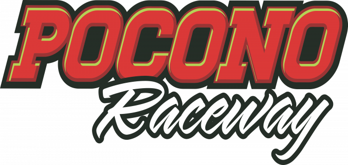 Pocono Raceway Logo red