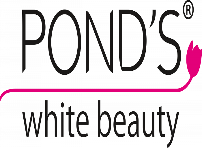 Pond's Logo old white beauty