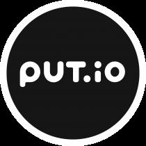 Put.io Logo full