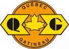 Quebec Gatineau Railway Logo maple leaf
