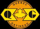 Quebec Gatineau Railway Logo maple leaf