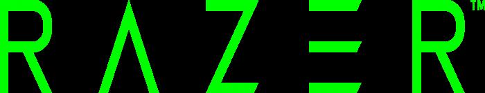 Razer Logo text green