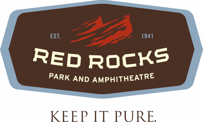 Red Rocks Park Logo old brown