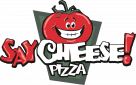 Say Cheese Pizza Co Logo