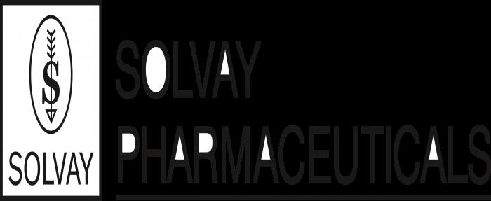 Solvay Logo black