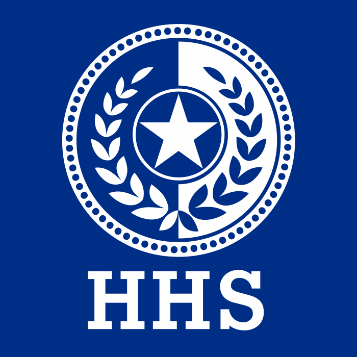 Texas Health and Human Services Logo blue