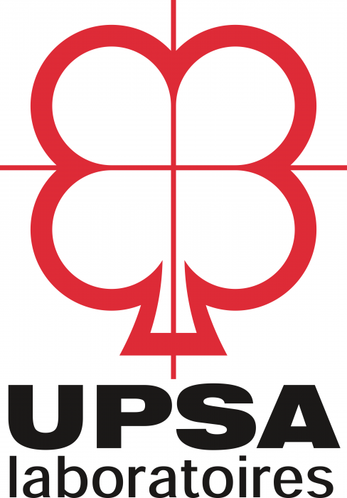 UPSA Pharma Logo old red