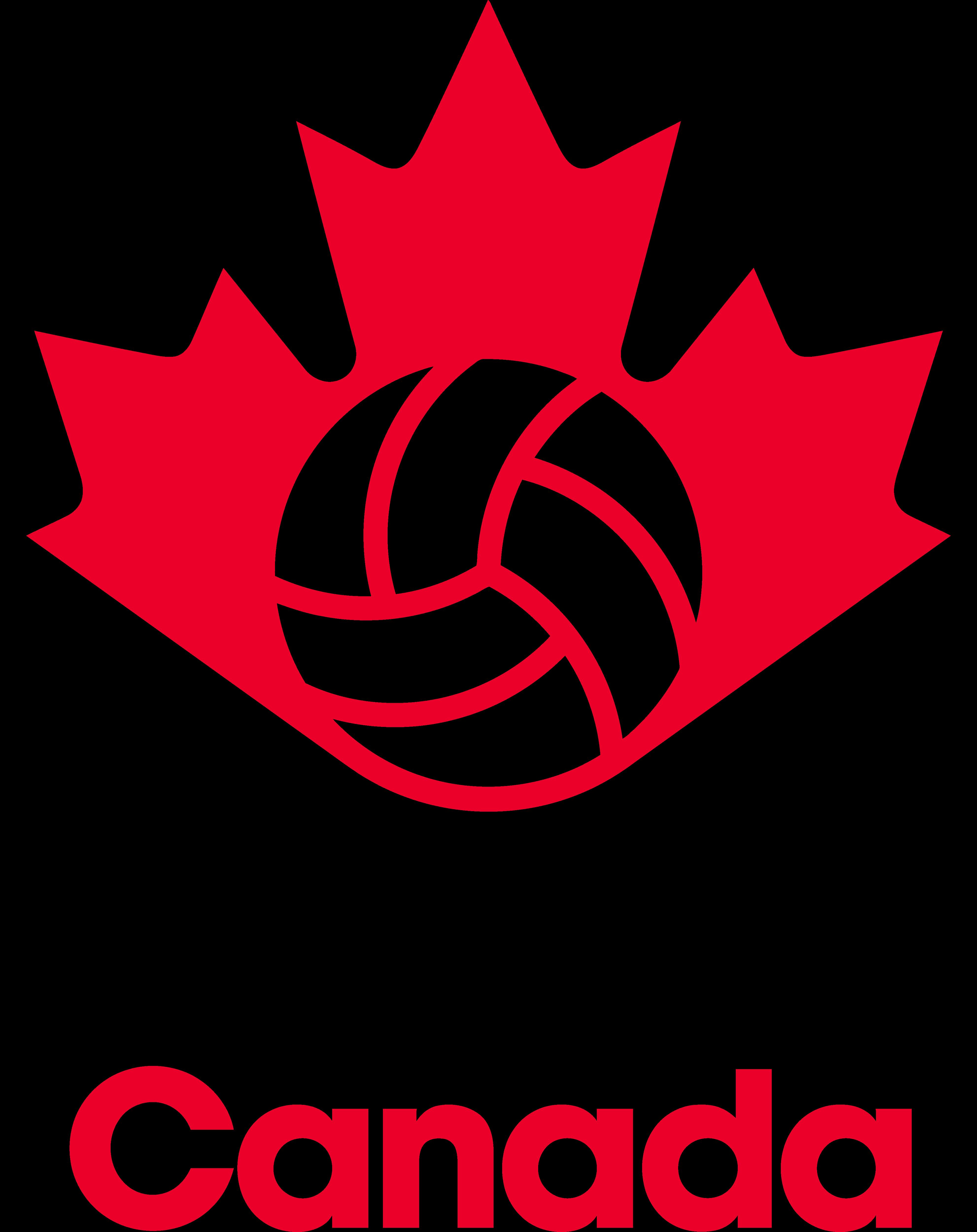 Volleyball Canada Logos Download